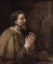 Rembrandt's image of The Apostle John